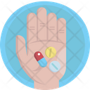 Pharmacy Tablets Capsules Icon