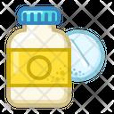 Tablets Jar Aspirin Icon
