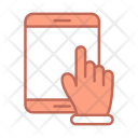 Tablette Hand Tech Icon