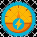 Tachometer Transport Automobile Icon