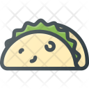 Taco Food Eat Icon
