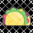 Taco Fast Food Food Icon