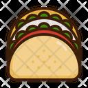 Taco Cuisine Delicious Icon
