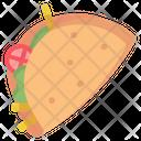 Taco Mexican Mexico Icon