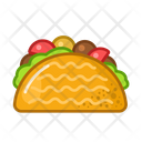 Taco Food Meal Icon