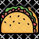 Taco Tacos Mexican Icon