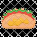 Sandwich Breakfast Burrito Pita Sandwich Icon