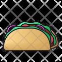 Taco Mexican Tortilla Icon