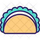 Taco Mexican Food Tortilla Icon
