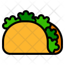Taco Fastfood Meal Icon