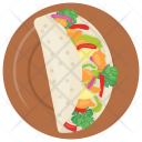 Taco Beef Cheese Icon