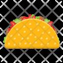 Taco Wrap Roll Icon