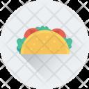 Tacos Tortilla Shawarma Icon