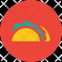 Shawarma Tortilla Tacos Icon