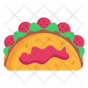 Mexican Dish Mexican Cuisine Tacos Icon