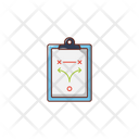 Tactic Planning Clipboard Icon