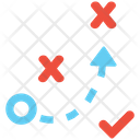 Tactical Path Tactical Strategy Icon