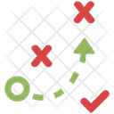 Tactical Path Business Strategy Icon