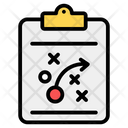 Tactical Plan Planning Tactics Report Icon