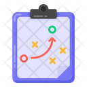 Tactical Plan Planning Strategy Strategic Plan Icon