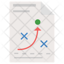 Tactics Planning Strategy Project Scheme Icon