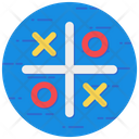 Tic Tac Toe Noughts Crosses Xs Os Icon