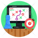 Tactical Plan Tactics Strategy Icon