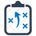 Clipboard Obstacle Plan Icon