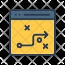 Tactics Webpage Design Icon