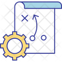 Business Strategy Goal Icon