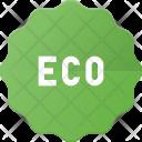 Tag Sticker Eco Icon