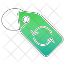 Reuse Tag Clothes Icon