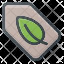 Tag Eco Bio Icon