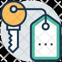 Key Keychain Tag Icon