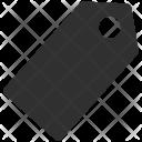 Green Label Tag Icon