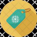 Christmas Ribbon Tag Icon