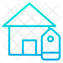 House Tag Home Cost Tag House Cost Tag Icon