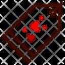 Tag Label Heart Icon
