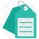 Tag Lebal Sticker Icon