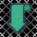 Arrow Bookmark Tag Icon
