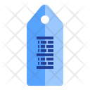 Tag Barcode Icon