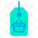 Tag Label Basket Icon