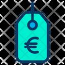 Tag Euro Icon