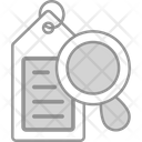 Tag Magnification Label Icon