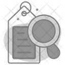 Tag Magnification Icon