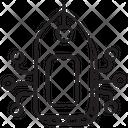 Tag Network Brandmark Sale Label Icon