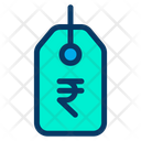 Rupees Label Tag Icon