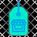Store Label Tag Icon