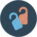 Tags Knobs Hotel Icon
