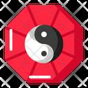 Taijitu Taoism Chinese Icon